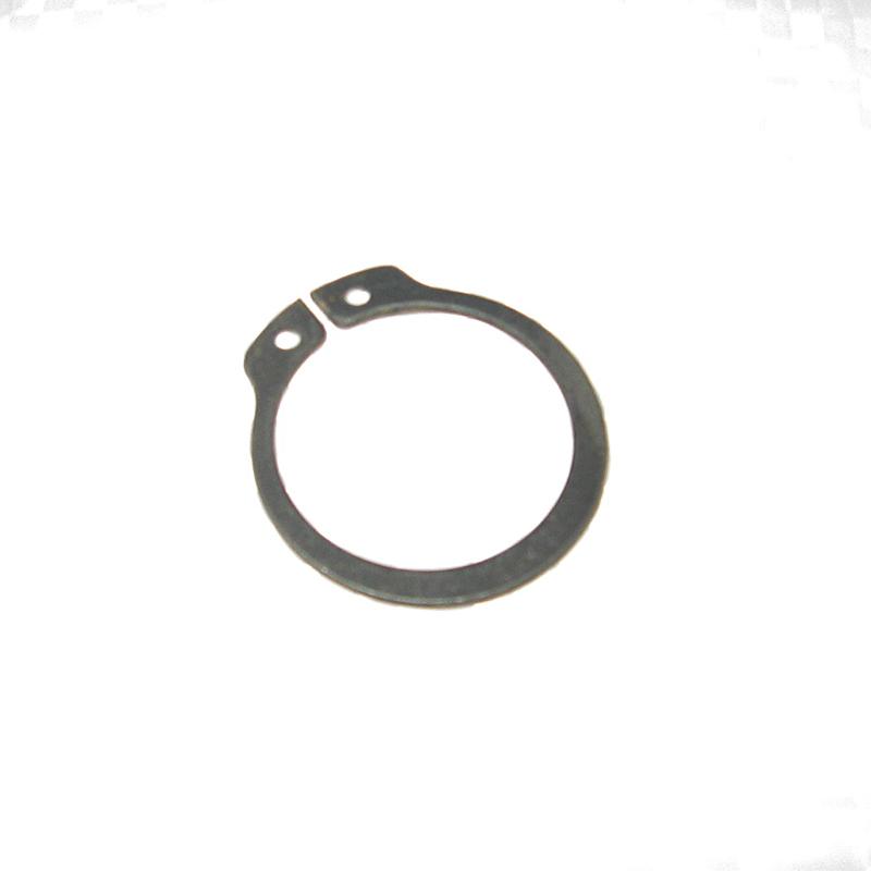 стопорное кольцо выпадает из канавки